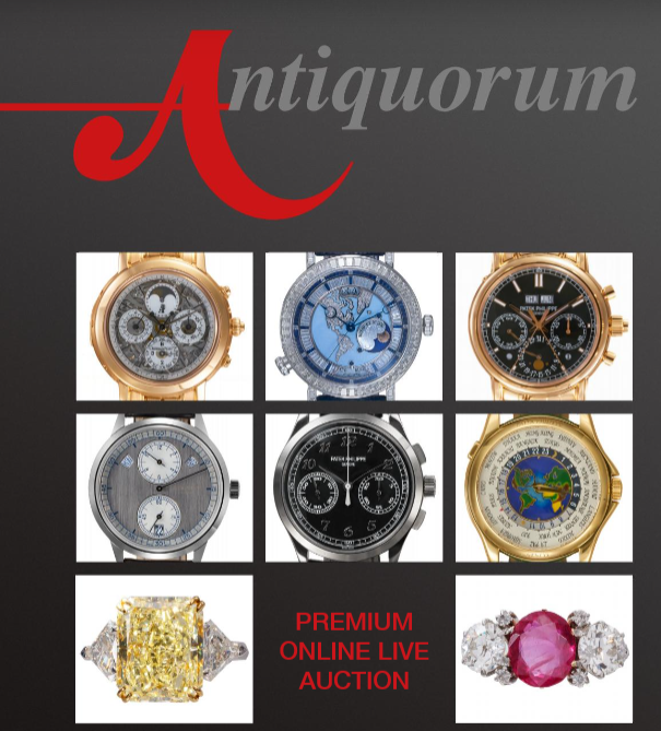 Important Modern & Vintage Timepieces & Jewelry | Antiquorum Auction - MondaniWeb