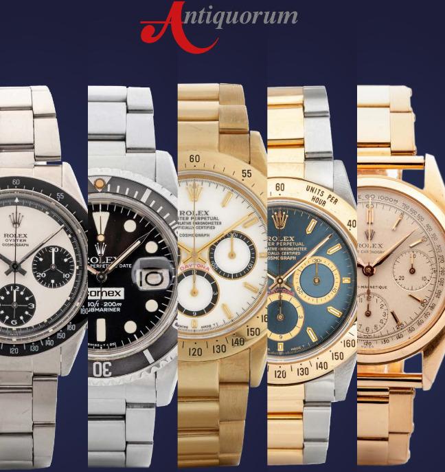 Antiquorum's Important Modern & Vintage Timepieces & Jewelry Auction - MondaniWeb