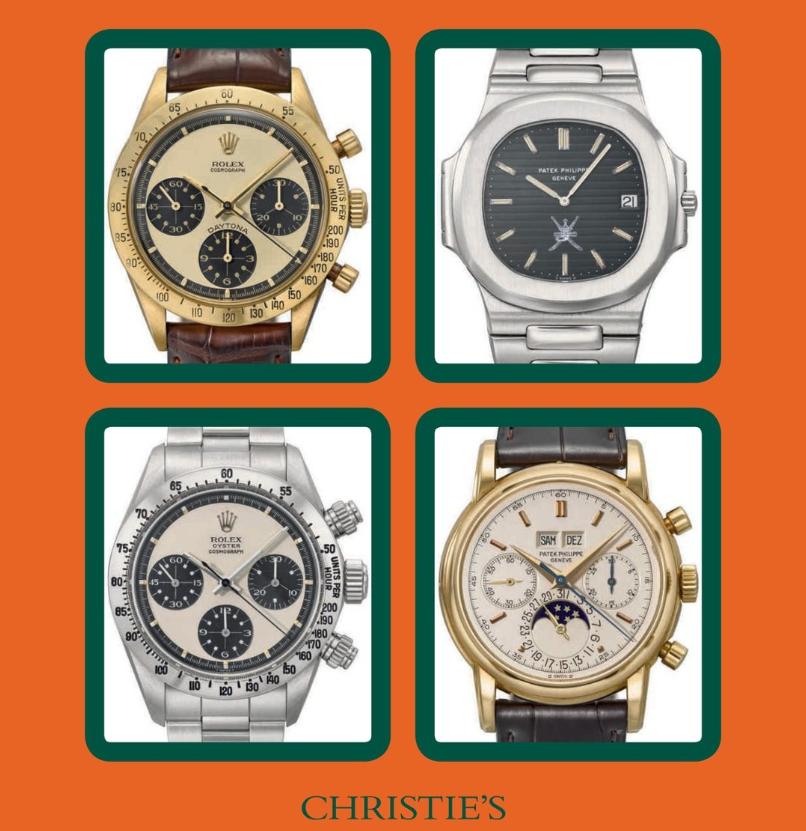 Rare Watches by Christie's | Geneva Auction - MondaniWeb