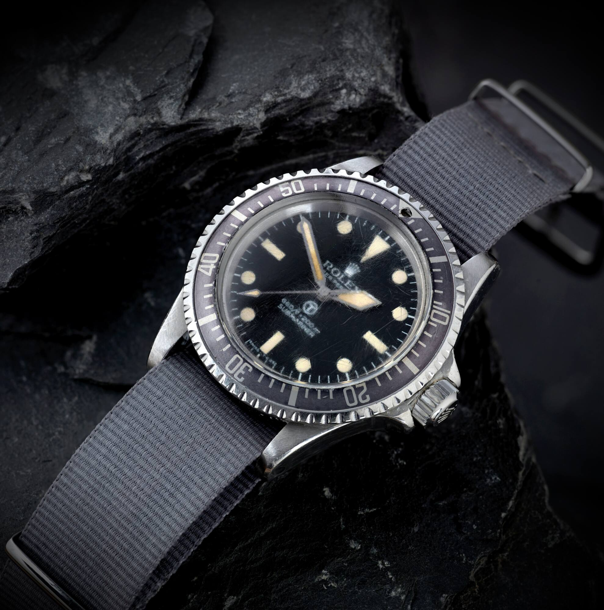 Breaking News, Rolex 'MilSub' sells for over £174,000 smashing Fellows' house record!! - MondaniWeb