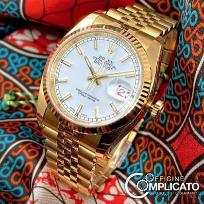 Gold Rolex Datejust - Mondani Web