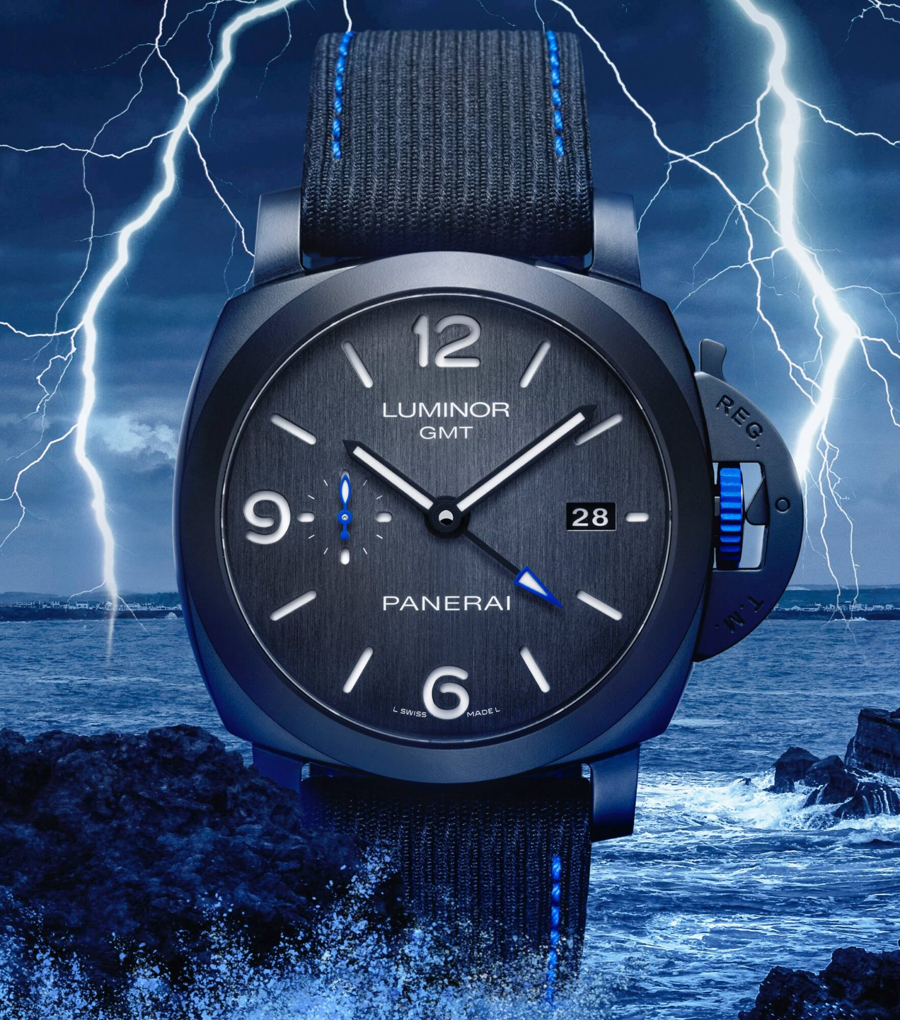 Panerai Luminor GMT Bucherer Blue - MondaniWeb