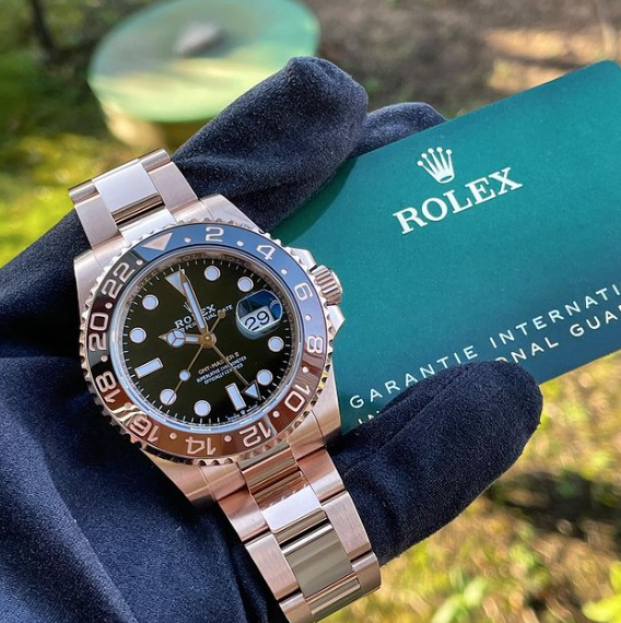 Rolex GMT Rose gold - Mondani Web