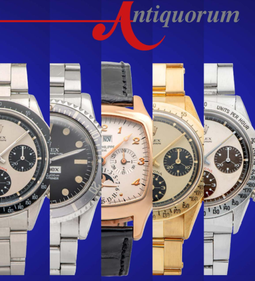 Important Modern & Vintage Timepieces by Antiquorum - MondaniWeb