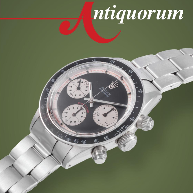 Important Antique, Modern & Vintage Timepieces & Jewelry by Antiquorum - MondaniWeb