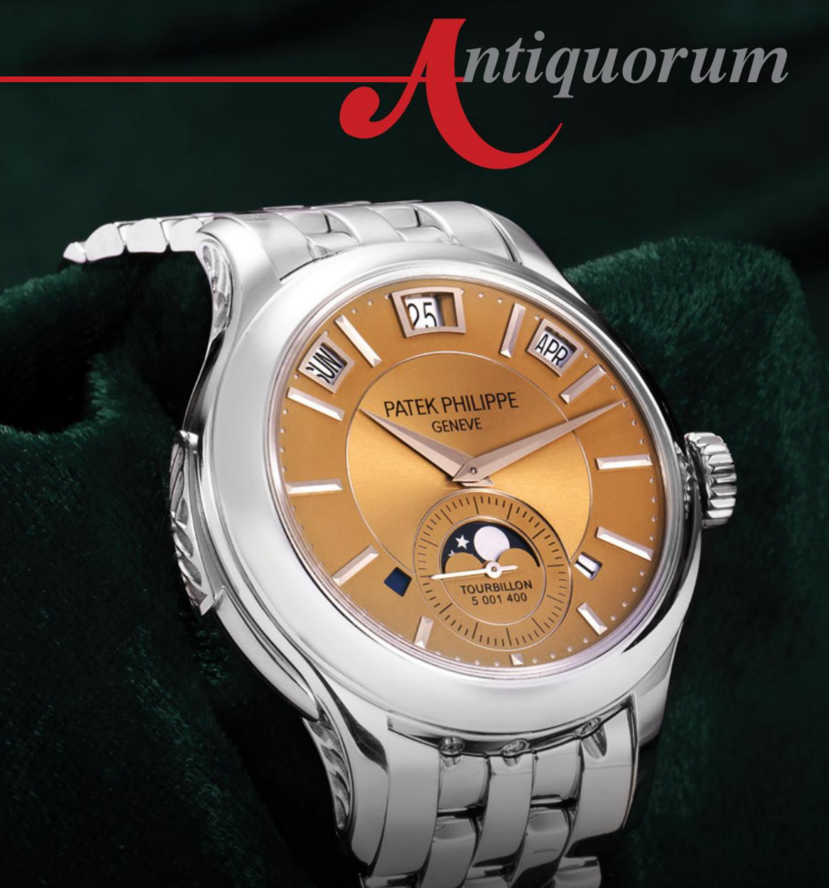 Important Antique, Modern & Vintage Timepieces & Jewelry by Antiquorum - MondaniWeb