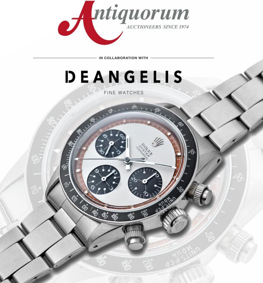 """Forte dei Marmi Auction """"Important Watches"""" by Antiquorum - MondaniWeb"""